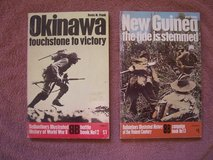 2 Military Books:  (1) Okinawa and (2) New Guinea in Ramstein, Germany