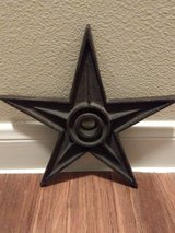 Cast iron Star in Conroe, Texas