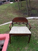 Antique love seat in Conroe, Texas