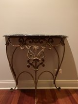 console table w/ marble top in Chicago, Illinois
