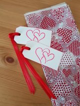 5  Valentine Goody Bags With Handmade Gift Tags in Ramstein, Germany