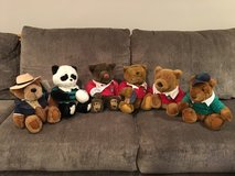 Stuffed Animals - Lands' End Authentic Rugby Bears (by Gund) in Naperville, Illinois