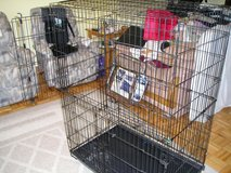 LARGE COLLAPSIBLE PET CAGE in Oswego, Illinois