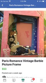 Vintage Barbie Picture Frame in Leesville, Louisiana