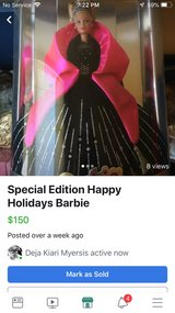 Special Edition Happy Holidays Barbie in Leesville, Louisiana