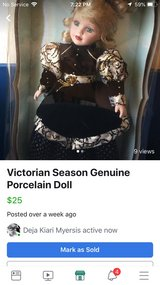 Porcelain Doll in Leesville, Louisiana