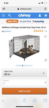 New Dog Crate in Fairfield, California