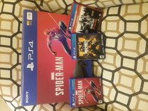 PS4 with 3 Games in Warner Robins, Georgia