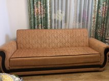 Couch with bed function. size 220/125 in Ramstein, Germany