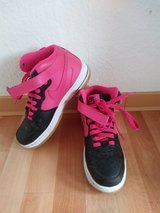 Pink black air force one Nike Shoes size 38 5.5Y in Ramstein, Germany