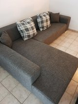 L-Couch + Seat extension + Delivery included!! in Ramstein, Germany