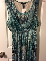 Blue dress in The Woodlands, Texas