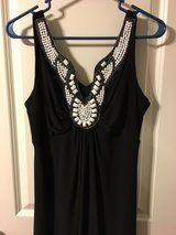 Black dress in The Woodlands, Texas