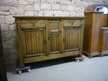 long high solid sideboard with beautiful carvings ,France in Ramstein, Germany