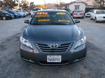 """2007 TOYOTA CAMRY 4CLY AUTO """" 30MPG HWY """" LOADED """" ONLY 128K MILES ON IT .....$5895 in 29 Palms, California"""