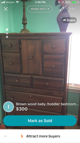 Baby/toddler bedroom set in Bolingbrook, Illinois