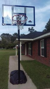 basketball goal in Leesville, Louisiana