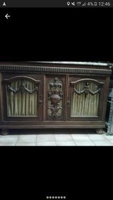 Old Dresser With Marble Top in Ramstein, Germany