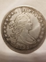 1795 Draped Bust Silver Dollar in Fort Campbell, Kentucky