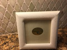 White silk picture frame in Kingwood, Texas