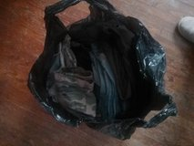 Bag of Jean and twill material in Aurora, Illinois
