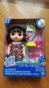 Baby alive sweet spoonfuls doll new in Bolingbrook, Illinois