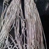 Sterling Silver  Chains, Cz earrings, stones 375 grams 59cents a gram in Aurora, Illinois