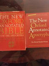 Oxford Annotated Bible (Set of 2) in Clarksville, Tennessee