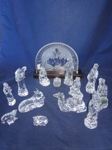 WATERFORD CRYSTAL Nativity 14 Piece Set ~ EXCELLENT in Naperville, Illinois