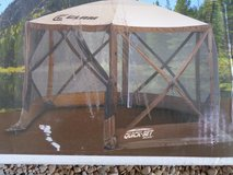 CANOPY PARTY APPROX 12' Quick-Set Escape Clam Screen Shelter set-up 45 seconds EASY in Alamogordo, New Mexico