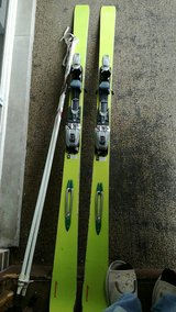 Skis / Sledges with poles(poles gone) in Chicago, Illinois