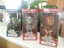 Wizard of Oz Bobble head collectables by Wacky wobbler in Travis AFB, California