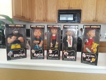 Popeye the Sailorman various Bobble head character Bobble head collection in Travis AFB, California