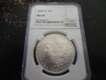 1883 cc ms 65 morgan dollar in Fort Campbell, Kentucky