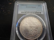 1883cc ms 64 morgan dollar in Fort Campbell, Kentucky