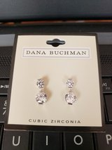 Cubic Zirconia earrings (New) in Aurora, Illinois