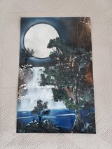 """Hand Painted Modern Painting - 14"""" x 22"""" in Okinawa, Japan"""