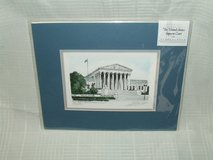 The United States Supreme Court Matted Print by Andrew Paul in Lockport, Illinois