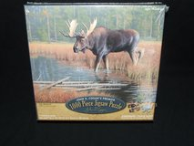 Moose Jigsaw Puzzle 1000pc The Monarch Premier Collection by John D. Cogan NEW in Lockport, Illinois