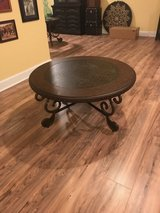 Large Round Coffee Table with matching end tables New in Quantico, Virginia