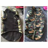 XL Camo dog coat from Top Paw in Naperville, Illinois