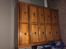 Solid wood dresser in Baytown, Texas