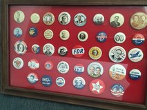 38 Political Campaign Buttons in Lockport, Illinois