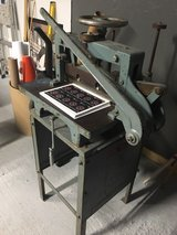 antique paper/card stock cutter in Leesville, Louisiana