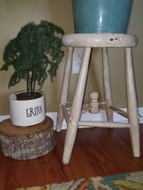 Antique Rare Army Mess Hall Stool circa late 1800's in Byron, Georgia