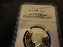 2011s silver perfect proof 70 ultra cameo kennedy half dollar NGC in Fort Campbell, Kentucky