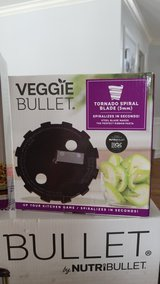 New in Box Veggie Bullet with accessories in Chicago, Illinois