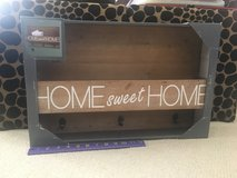 """New!  """"Home Sweet Home"""" Mail Holder with Hooks in Naperville, Illinois"""