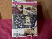 B.N. Simplicity Pattern  #2984  Dog Items in Yorkville, Illinois