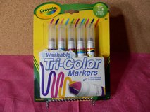 Crayola Washable Tr-Color Markers in Naperville, Illinois